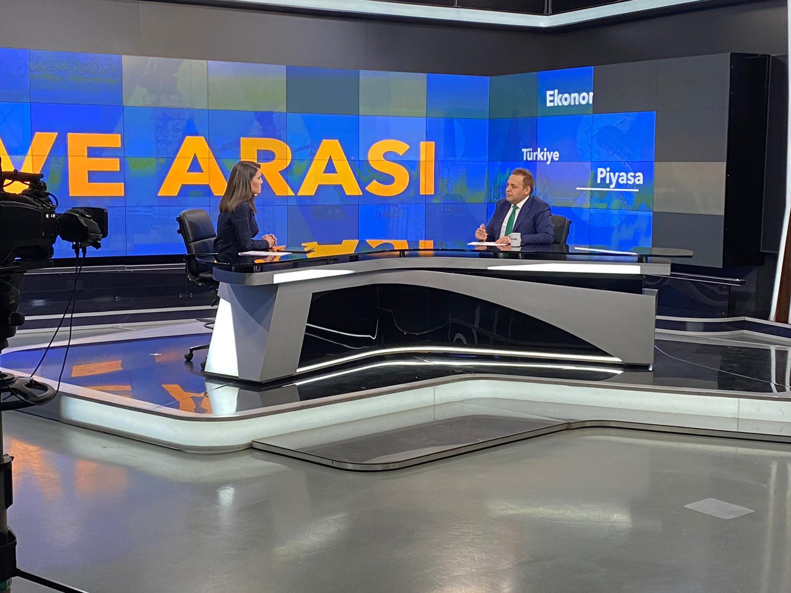 ACG Group CEO Yunus Göksu was a guest on TvNet
